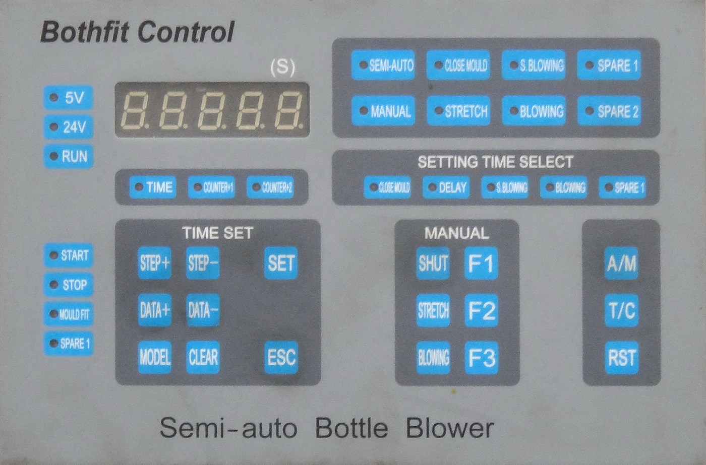 Микроконтроллерная панель управления